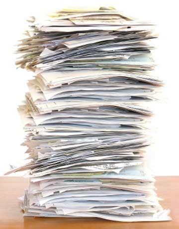 paper pile lg